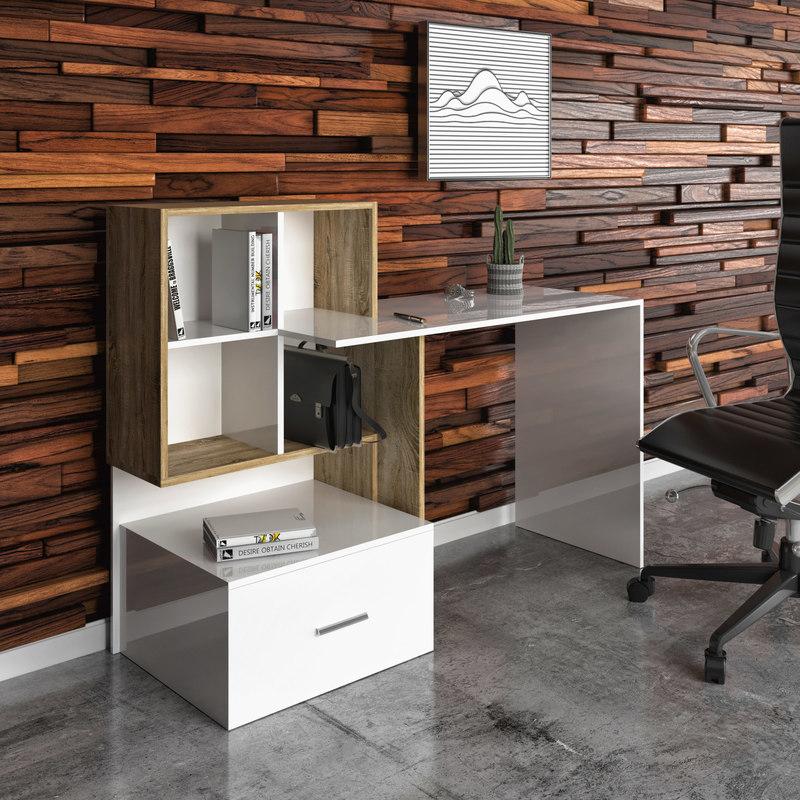 office desk ho1s 3D
