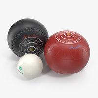 lawn bowls set model