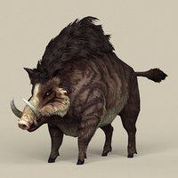Game Ready Fantasy Boar