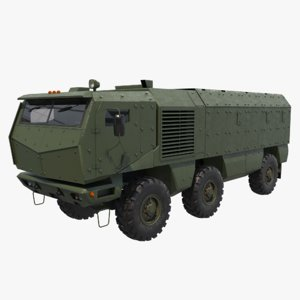 kamaz typhoon k 3D model
