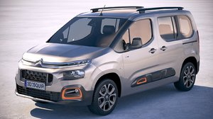 3D citroen berlingo 2019