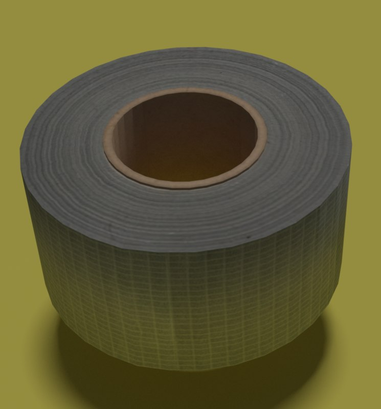 3D model duct tape vr ar