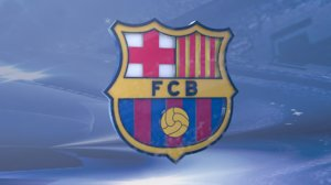3D shield f c barcelona
