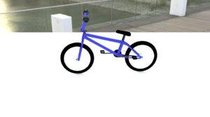 bmx bicycle 3D model