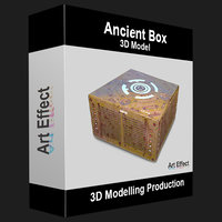 3D ancient box