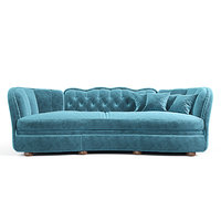 - sofa muscari epoque 3D model