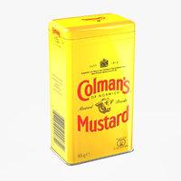 Mustard Powder Colmans Tin Can