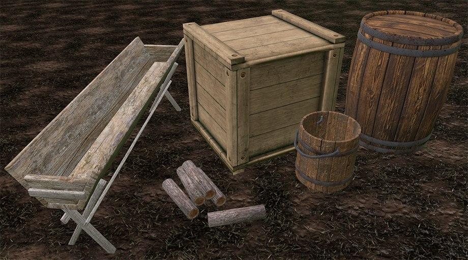 medieval assets 3D