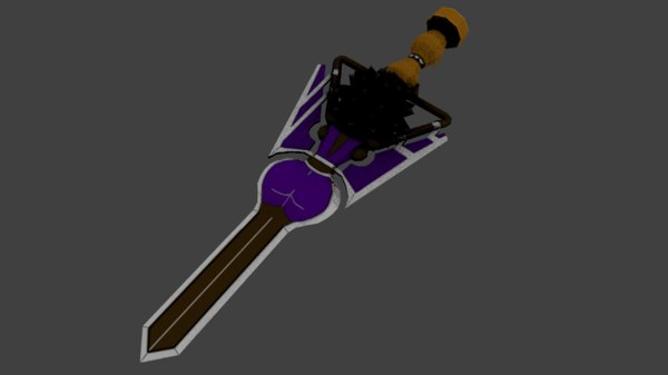 sword weapon 3D model