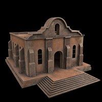 3D building church chapel