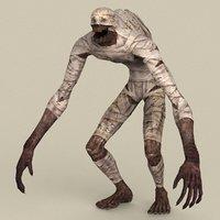ready fantasy mummy model