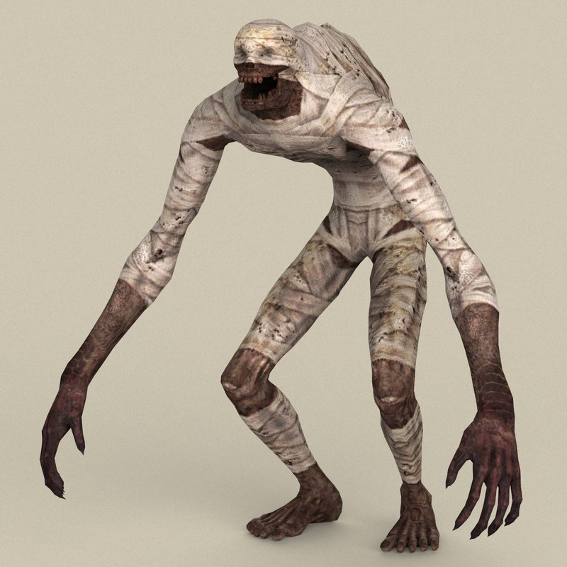 ready fantasy mummy model
