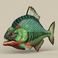 3D ready fantasy fish