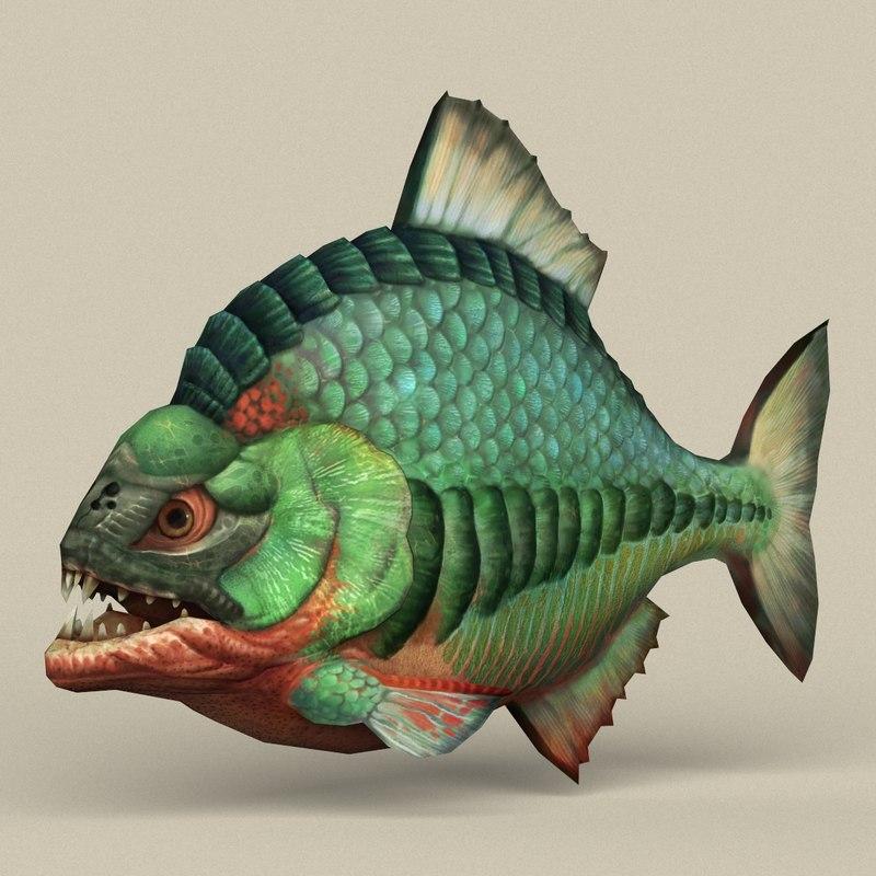 3D ready fantasy fish