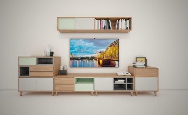 tv console 3D model