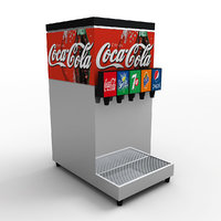 soft drink dipenser 3D model