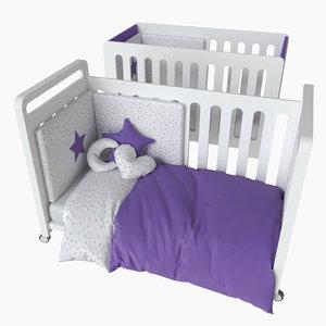 3D nursery bedroom decor