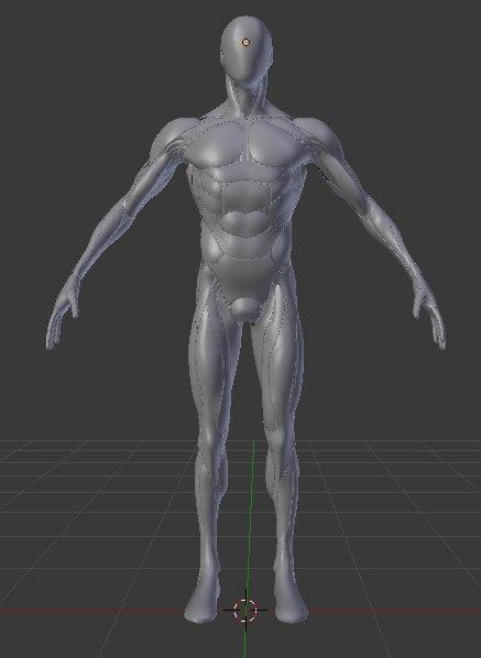 cyborg iron armor 3D