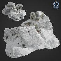 3d scanned rock cliff C Snow