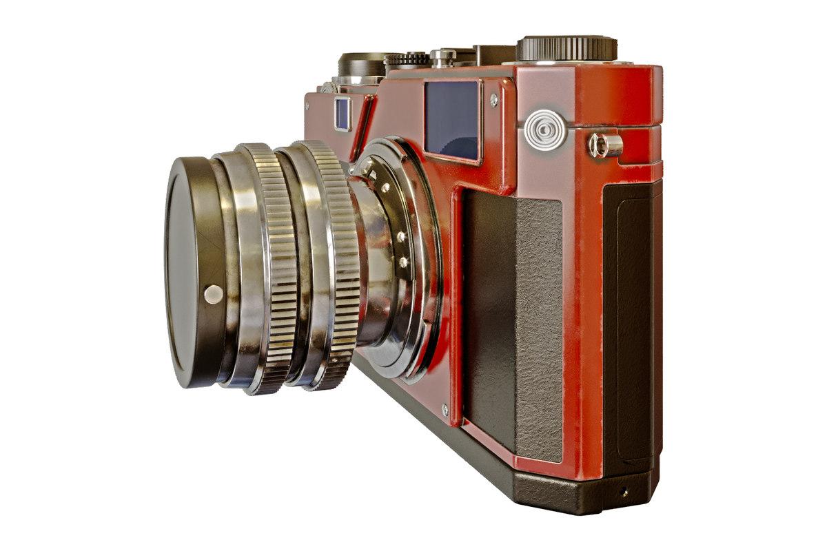 nikon s3 digital camera 3D model