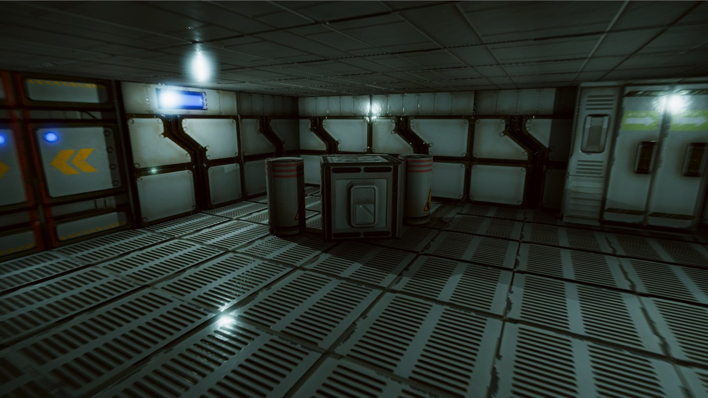 3D sci-fi environment pack