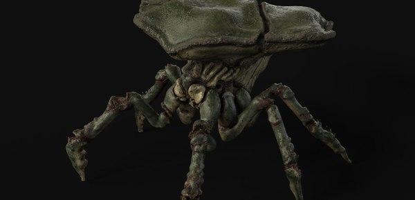 3D model arnold5 crab