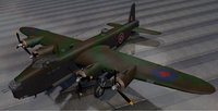 3D plane short stirling mk-3