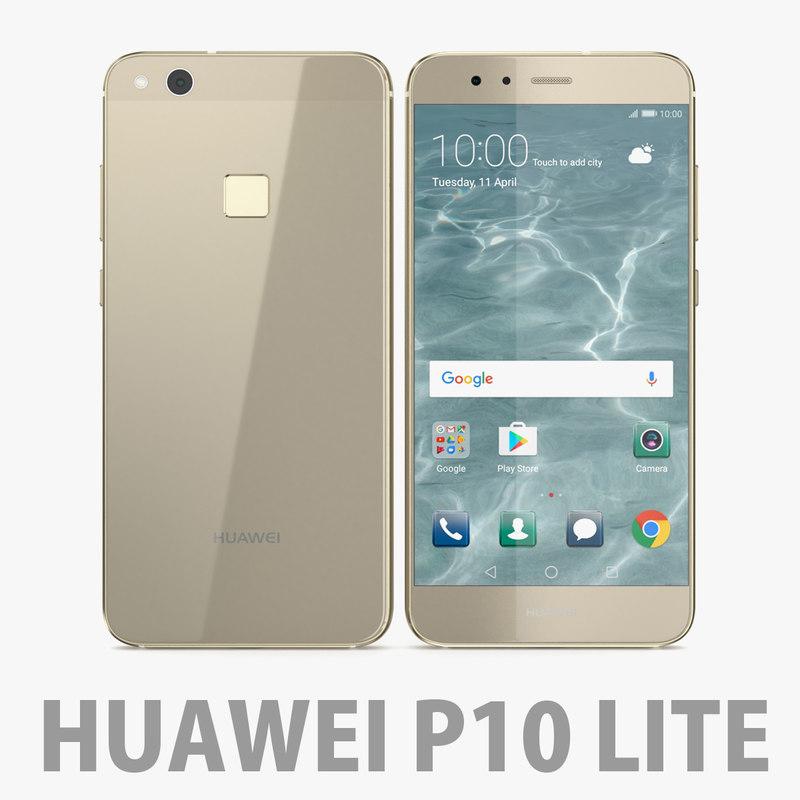 huawei p10 lite 3D