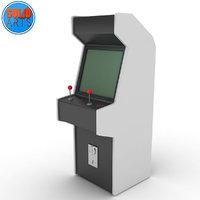 3D arcademachine mame model