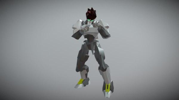 3D sema boxing robot