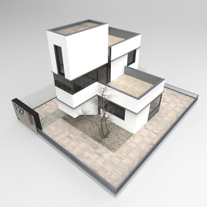 3D housing volumes model