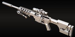 tac 21 sniper rifle model
