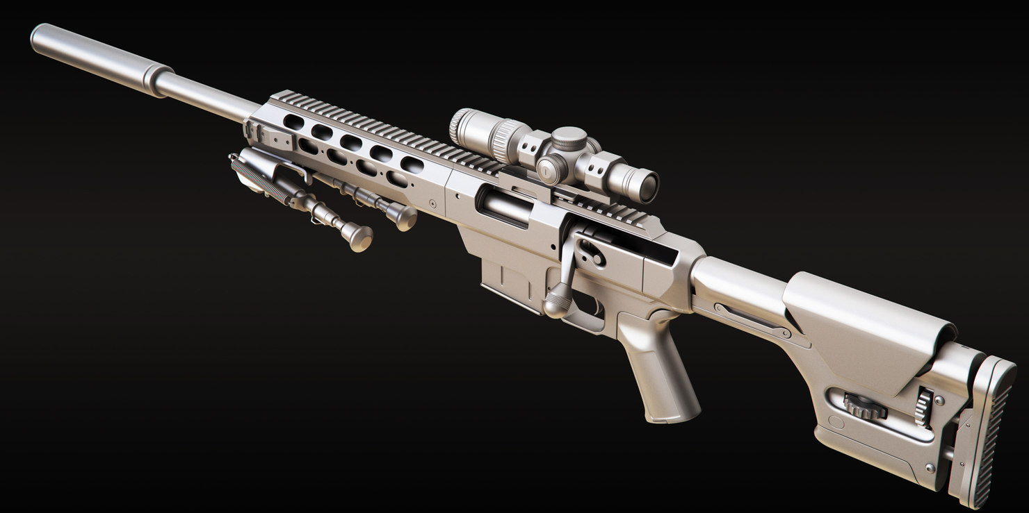 tac 21 sniper rifle model