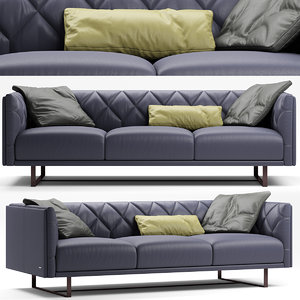 sofa seat furniture 3D model