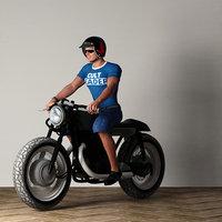 man ride motor model