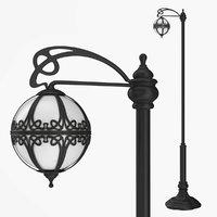 Street lamp one bulb v2.0