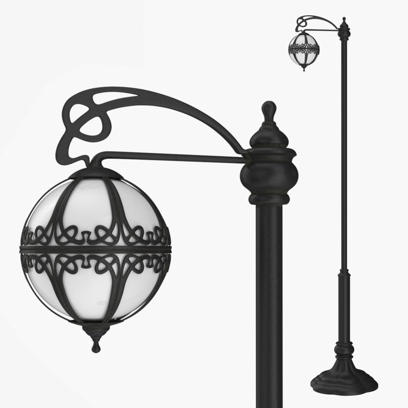 street lamp bulb 0 3D model