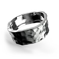 hammered band 3D model