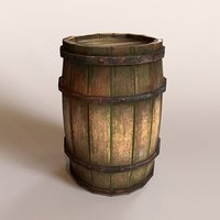 barrel blender collisions 3D