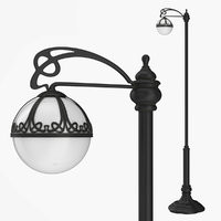 Street lamp one bulb v2.1
