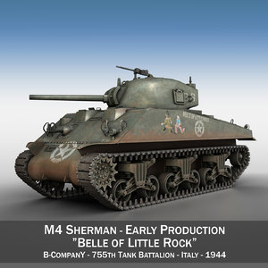 m4 - belle little 3D