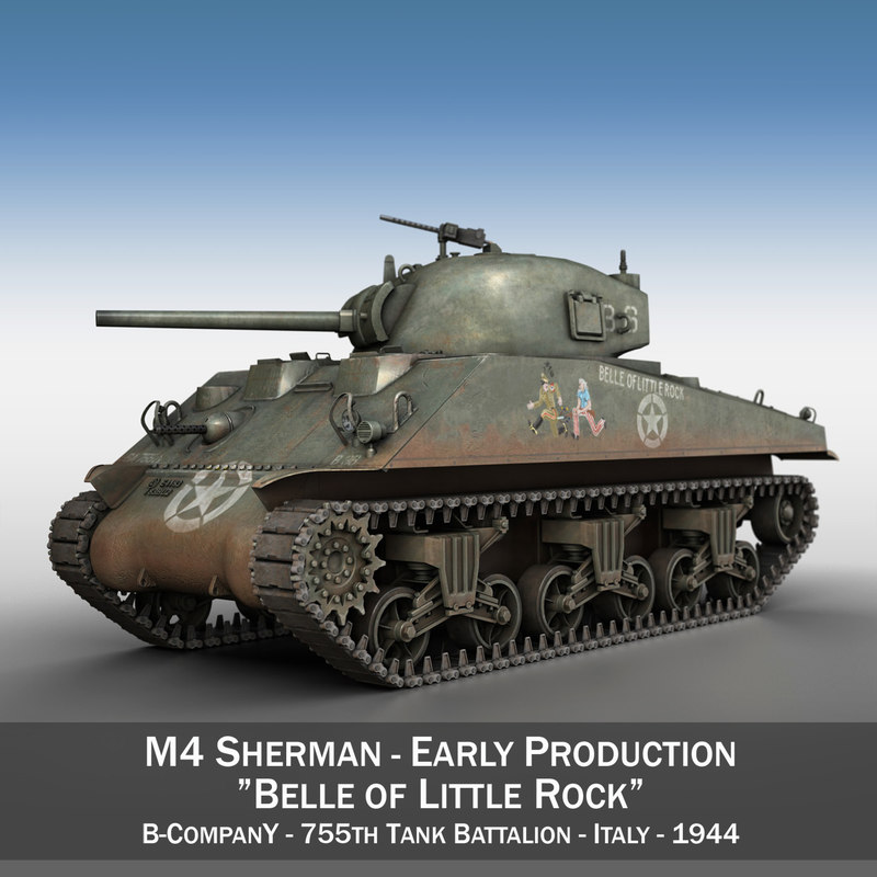 m4 - belle little 3D