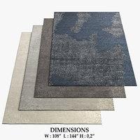 3D restoration hardware rugs 54