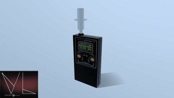 breathalyzer breath 3D