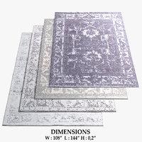 3D restoration hardware rugs 55