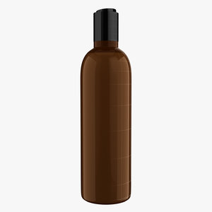 3D model haircare bottle