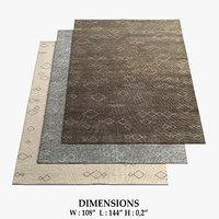 restoration hardware rugs 57 3D model