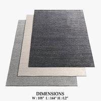 restoration hardware rugs 58 3D