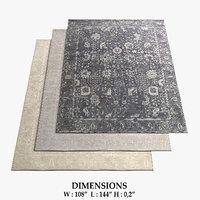 3D restoration hardware rugs 59