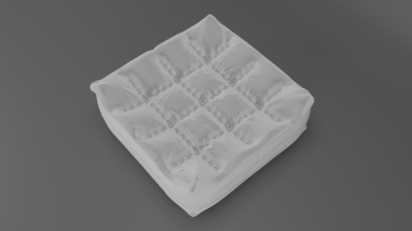 3D photorealistic pillow